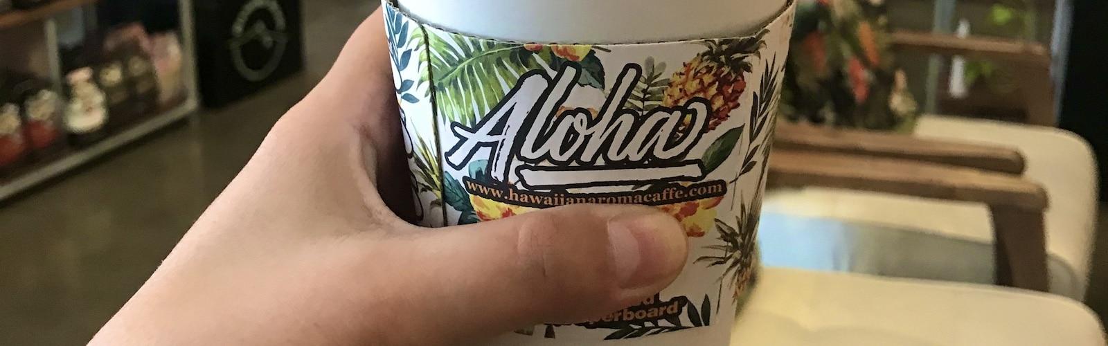 Best Coffee in Waikiki, Hawaiian Aroma Caffe