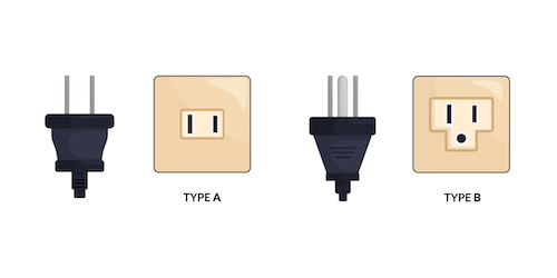 Type A & B Electrical Outlets, Hawaii, USA