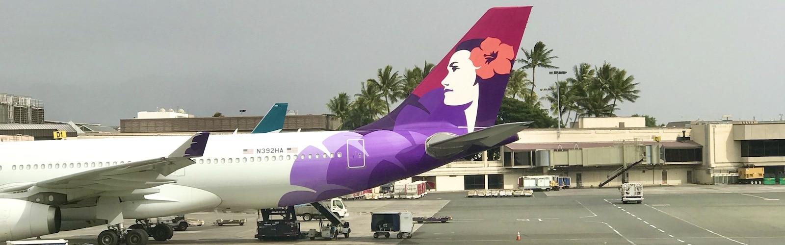 Hawaiian Airlines, Honolulu Airport, Oahu, Hawaii