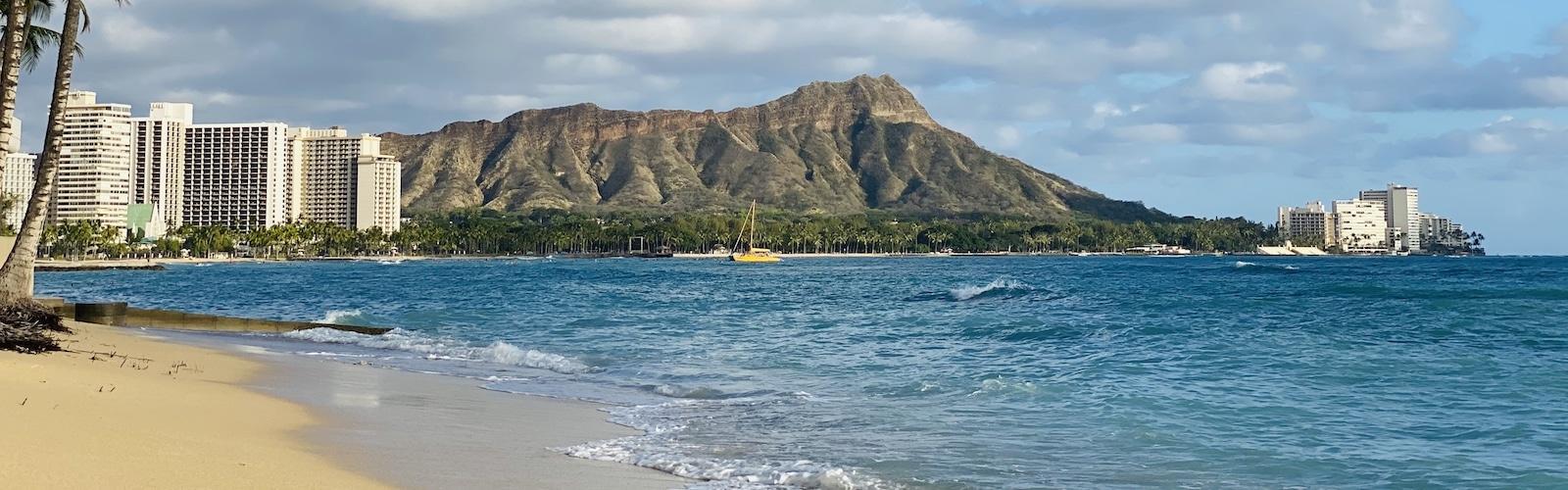 Diamond Head, Waikiki, Honolulu, Oahu