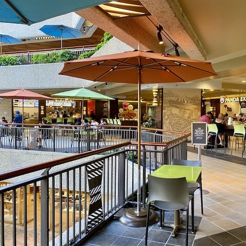 Paina Lanai Food Court, Waikiki, Oahu