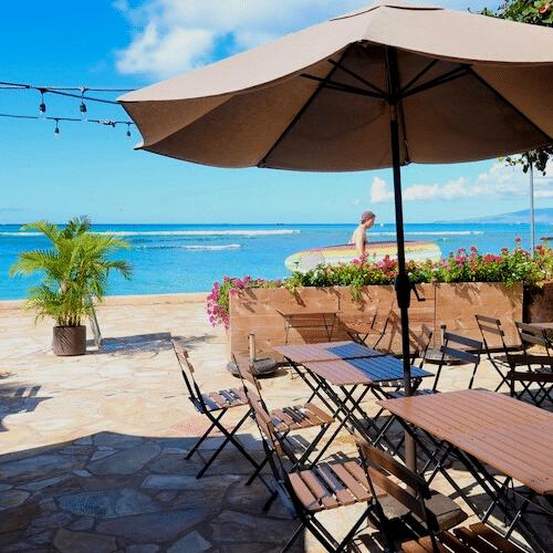 Barefoot Beach Cafe, Waikiki, Oahu