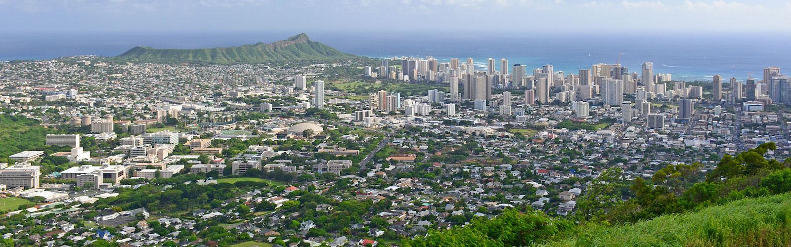 Tantalus Lookout, Oahu Scenic Lookouts, Hawaii