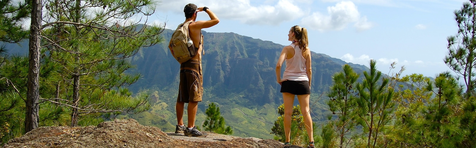 Oahu Easy Hikes, Honolulu, Hawaii