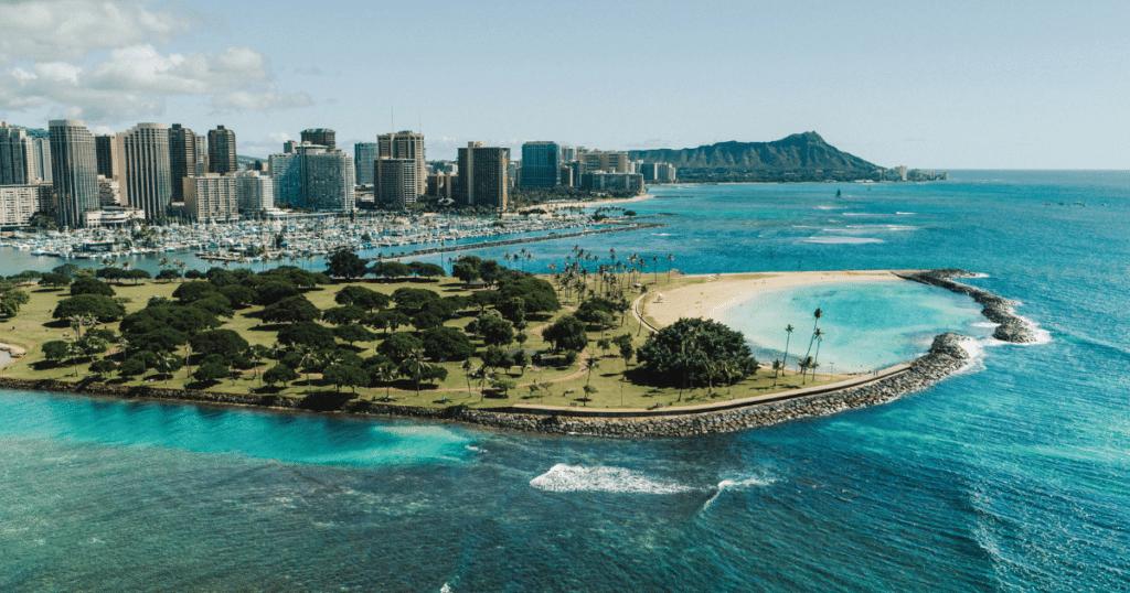 Ala Moana Beach Park, Waikiki, Oahu