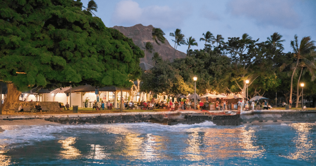 Barefoot Beach Cafe, Outdoor Dining Venues in Waikiki