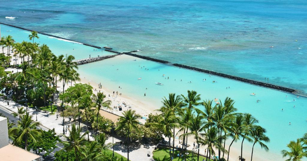 Kuhio Beach Park, Waikiki Beach, Oahu
