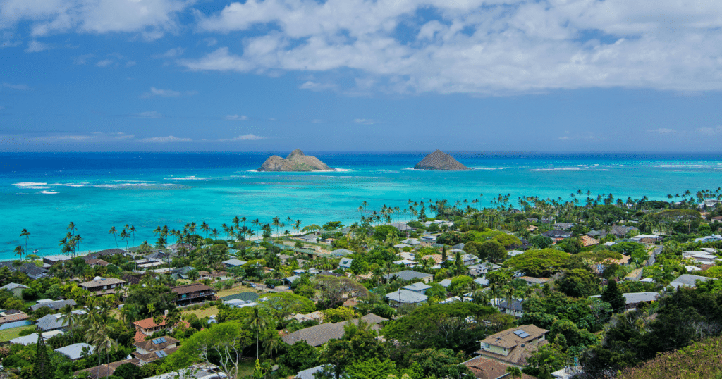 Lanikai Beach, Kailua, Honolulu, Oahu