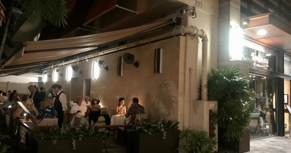 Taormina Sicilian Cuisine, Outdoor Dining Venues in Waikiki